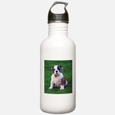 Cute Bulldog Water Bottle