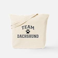 Team Dachshund Tote Bag
