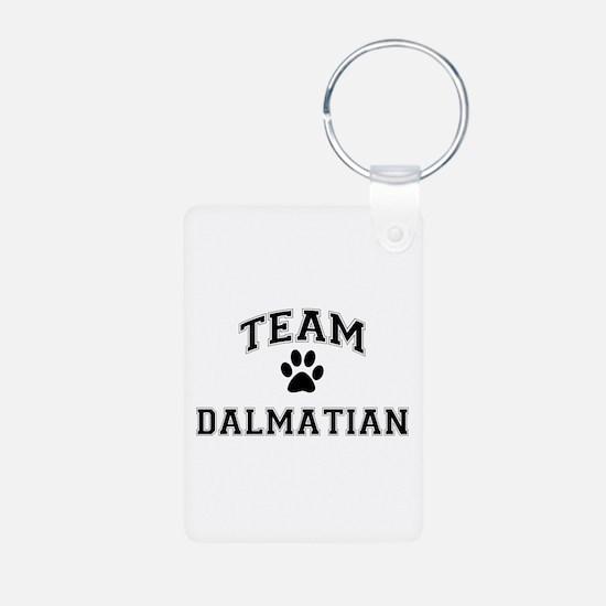 Team Dalmatian Keychains