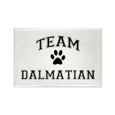 Team Dalmatian Rectangle Magnet