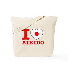 Aikido Flag Designs Tote Bag