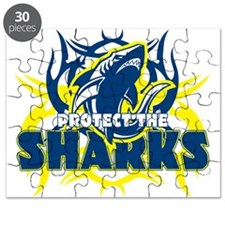 Protect the Sharks Puzzle