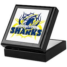 Protect the Sharks Keepsake Box