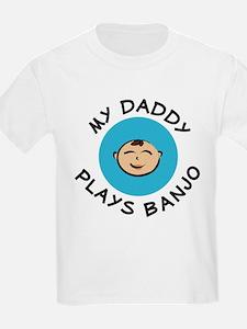 daddy plays banjo baby B T-Shirt