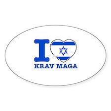 Krav Maga Flag Designs Decal