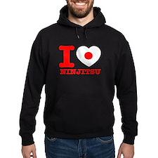 Ninjutsu Flag Designs Hoodie