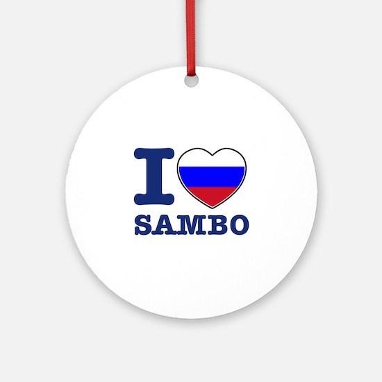 Sambo Flag Designs Ornament (Round)