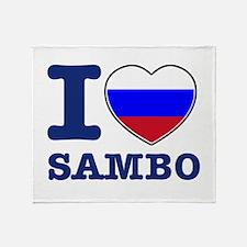 Sambo Flag Designs Throw Blanket