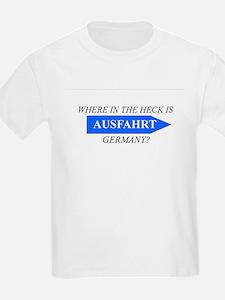 Ausfahrt Logo T-Shirt