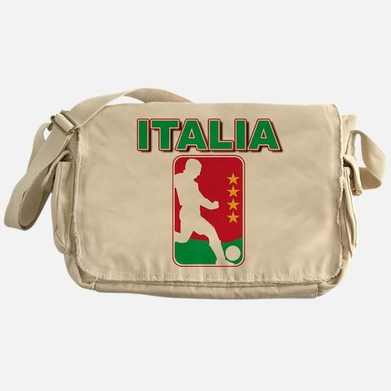 Italian World Cup Soccer Messenger Bag