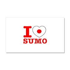 Sumo Flag Designs Car Magnet 20 x 12