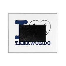 Taekwondo Flag Designs Picture Frame