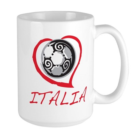 Italian World Cup Soccer Large Mug