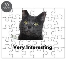 Very Interesting Blue Cat Puzzle