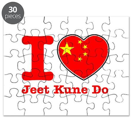 Jeet Kune Do Flag Designs Puzzle