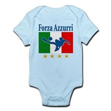 Italian World Cup Soccer Infant Bodysuit