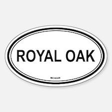 Royal Oak (Michigan) Oval Decal