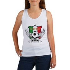 Italian World Cup Soccer Women's Tank Top