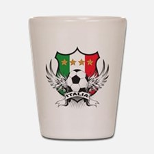 Italian World Cup Soccer Shot Glass