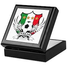 Italian World Cup Soccer Keepsake Box