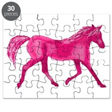 Pink Horse Puzzle