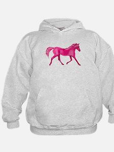 Pink Horse Hoodie