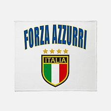 Italian World Cup Soccer Throw Blanket