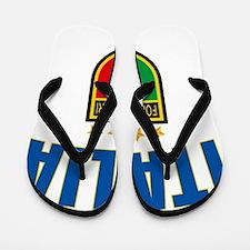 Italian World Cup Soccer Flip Flops
