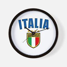 Italian World Cup Soccer Wall Clock
