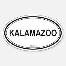 Kalamazoo (Michigan) Oval Decal