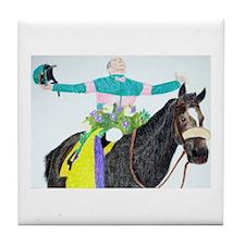 Mike Smith and Zenyatta Tile Coaster