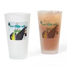 Mike Smith and Zenyatta Drinking Glass