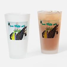 Mike Smith and Zenyatta Drinking Glass