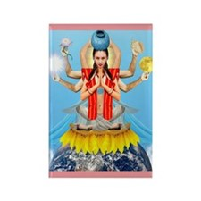 QUAN YIN, Goddess of Compassion Rectangle Magnet
