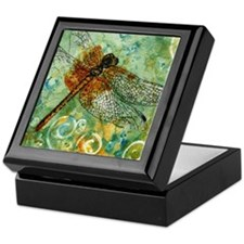 Dragonfly Away Keepsake Box