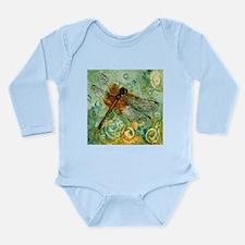 Dragonfly Away Long Sleeve Infant Bodysuit