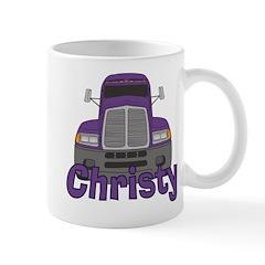 Trucker Christy Mug