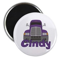 Trucker Cindy Magnet