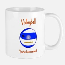Volleyball Youve been served 6000.png Mug
