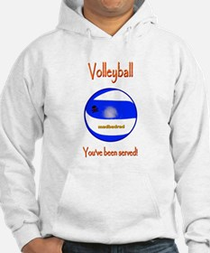Volleyball Youve been served 6000.png Hoodie