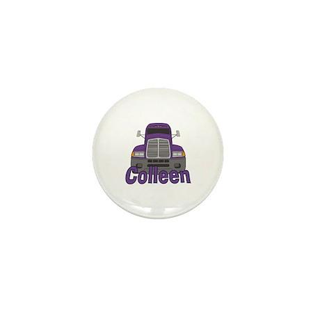 Trucker Colleen Mini Button