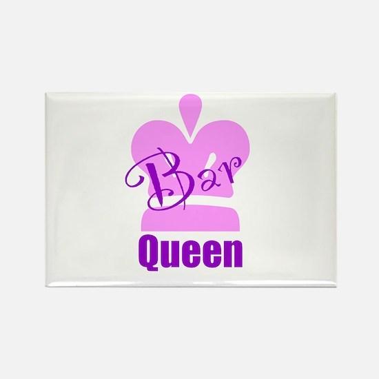 Bar Queen Rectangle Magnet