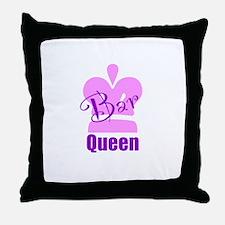 Bar Queen Throw Pillow