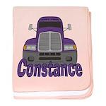 Trucker Constance baby blanket