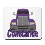 Trucker Constance Mousepad