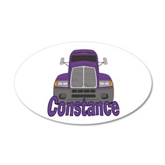 Trucker Constance Wall Decal
