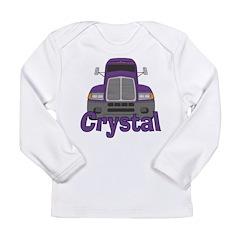 Trucker Crystal Long Sleeve Infant T-Shirt