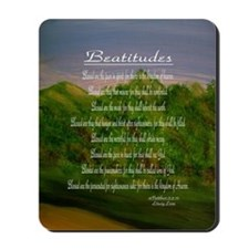 Beatitudes Green Mousepad