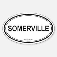 Somerville (Massachusetts) Oval Decal