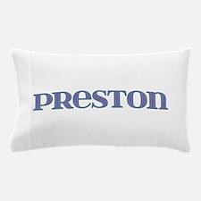 Preston Blue Glass Pillow Case